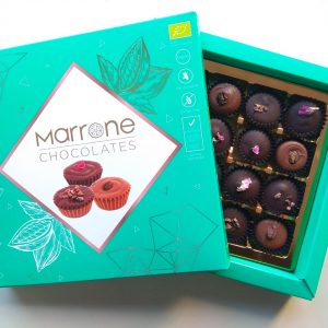 БИО кутия MARRONE CHOCOLATES – 16 бонбона